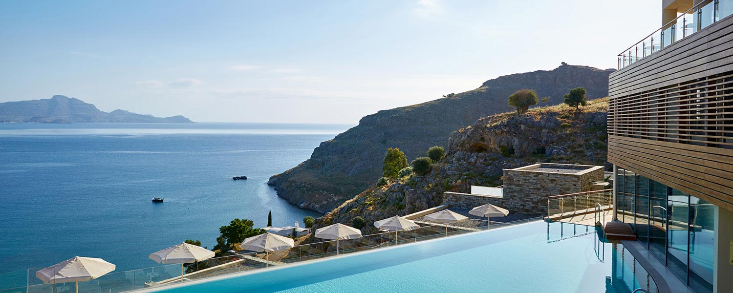 Luxury Hotel In Rhodes Lindos Blu Rhodos Island Greece